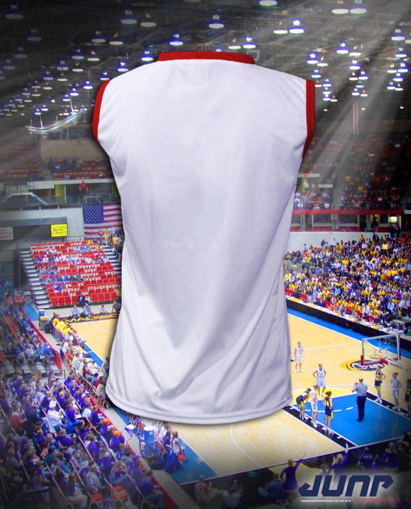 maillot sport basket personnalise jump performance