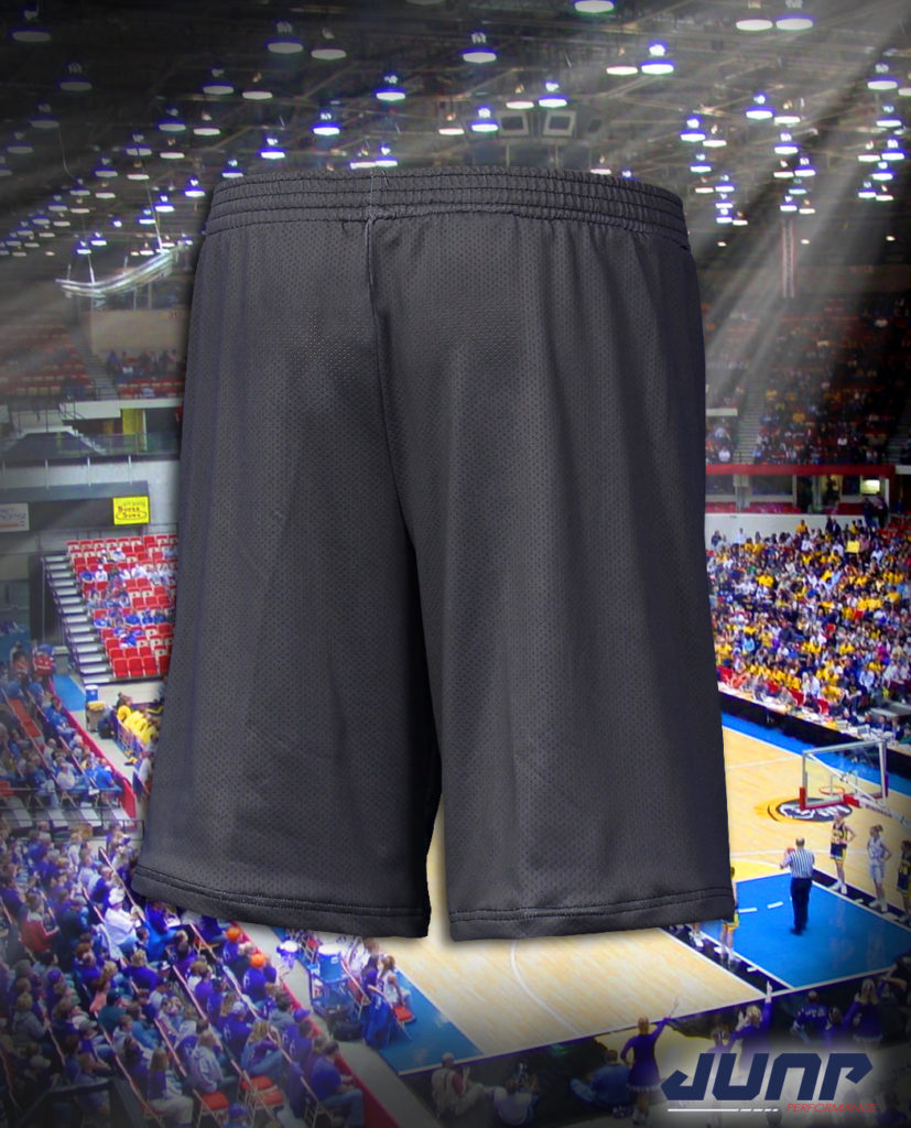 short sport basket personnalise jump performance