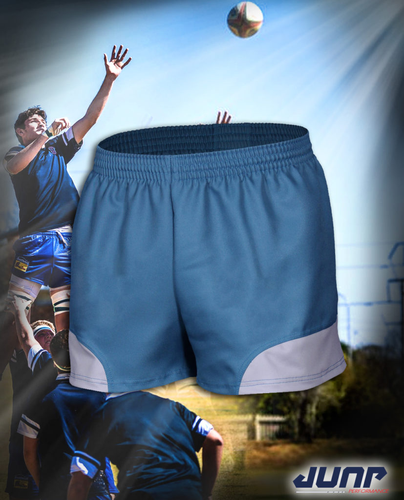 short sport rugby personnalise jump performance