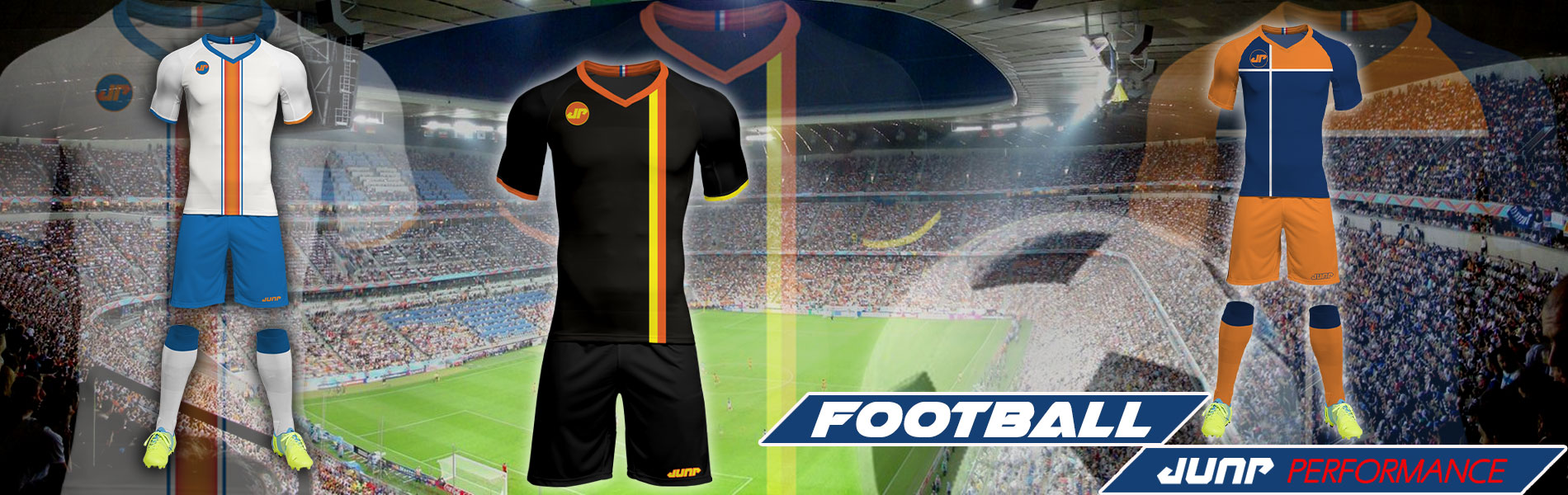 tenue maillot foot football personnalise jump performance industries