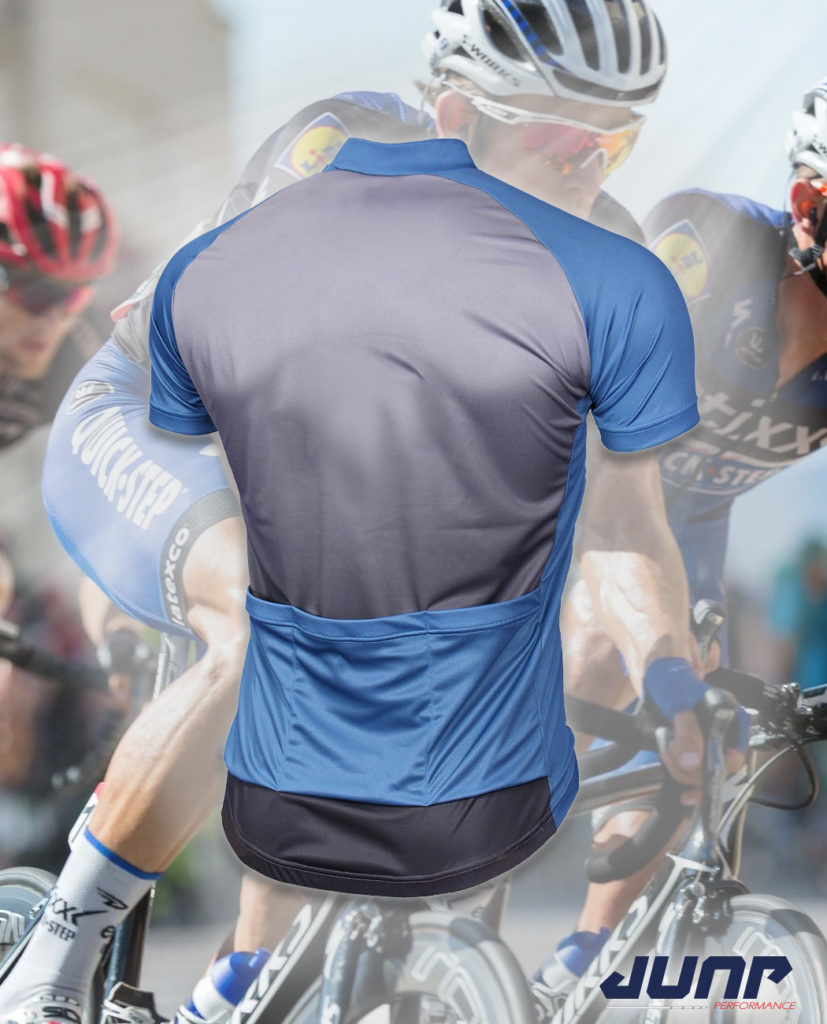 maillot cycle cyclisme personnalise dos jump performance industries