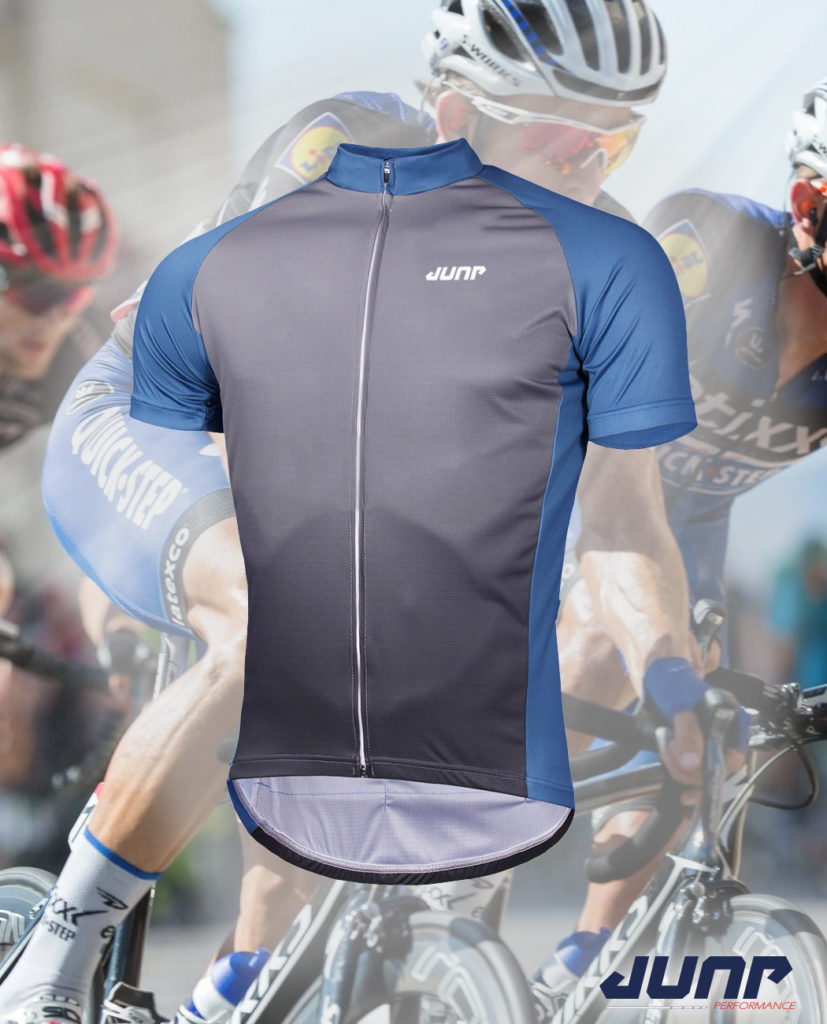 maillot cycle cyclisme personnalise zip jump performance industries