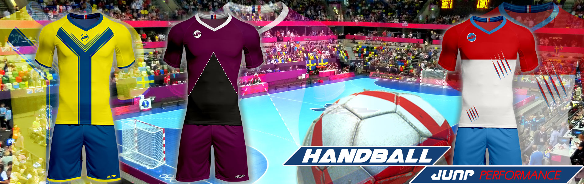 tenue maillot hand handball personnalise jump performance industries