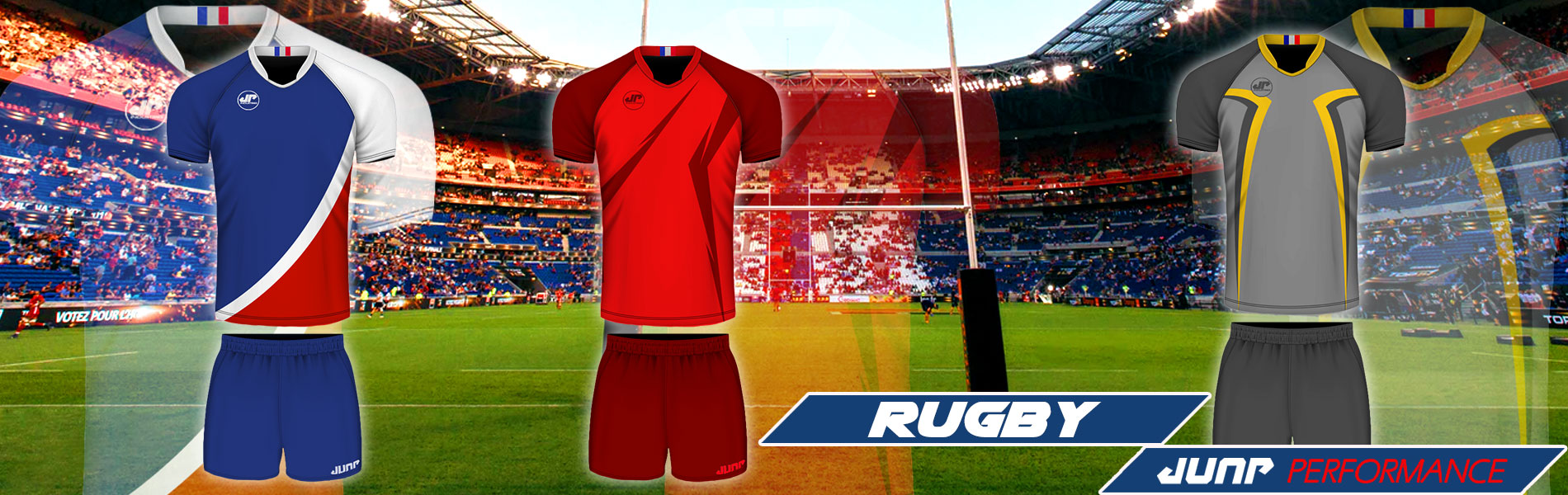 tenue maillot rugby personnalise jump performance industries